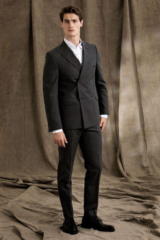 Eames dubbelknäppt kostym
