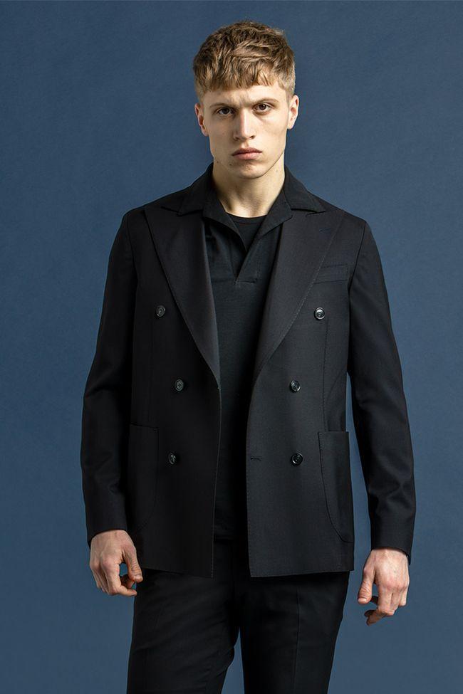 Erik double-breasted blazer