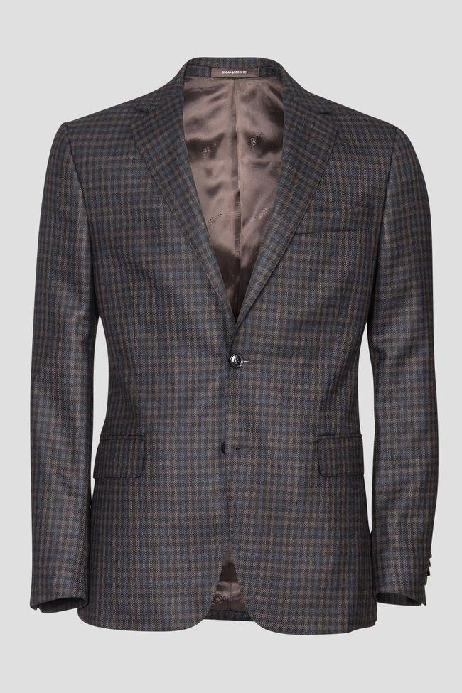 Falk checkered blazer