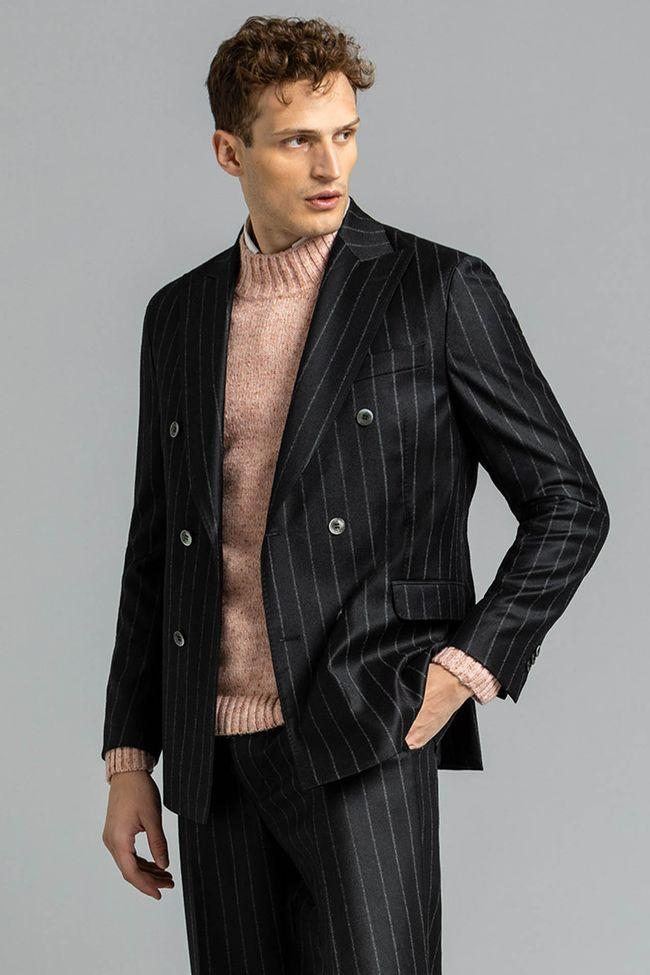 Farris double breasted pinstripe blazer
