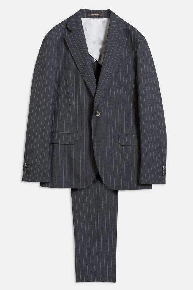 Ferry kritstrecksrandig kostym