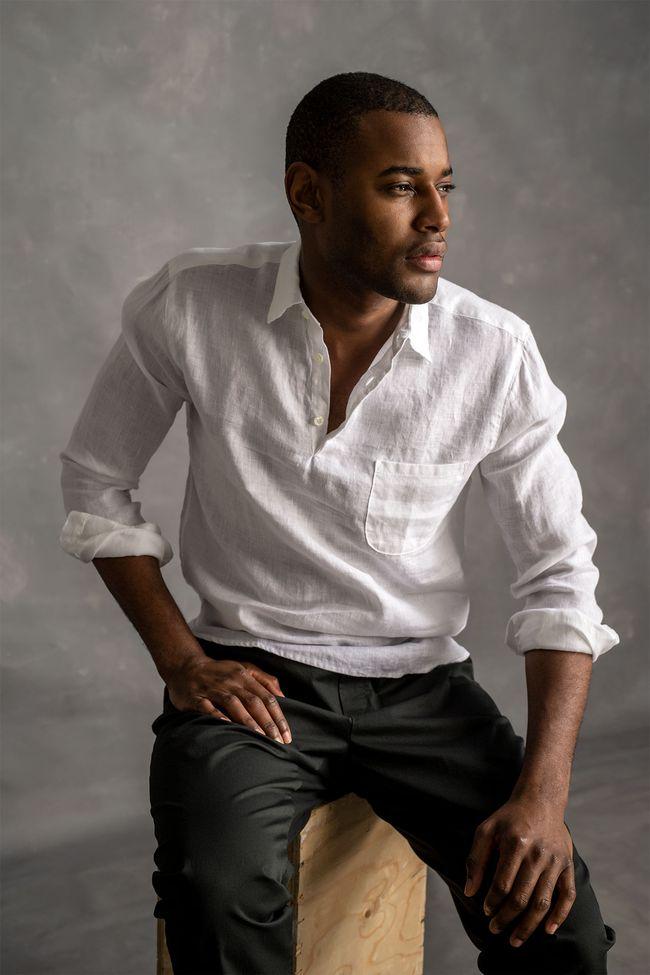 Hadi long sleeve linen shirt