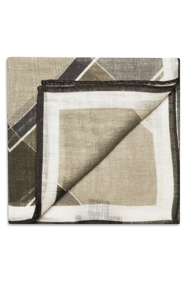 Printed linen Handkerchief