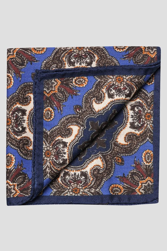 Wool and silk handkerchief