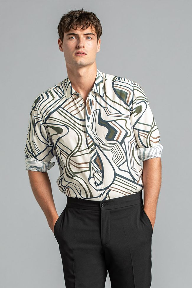 Hardy patterned shirt