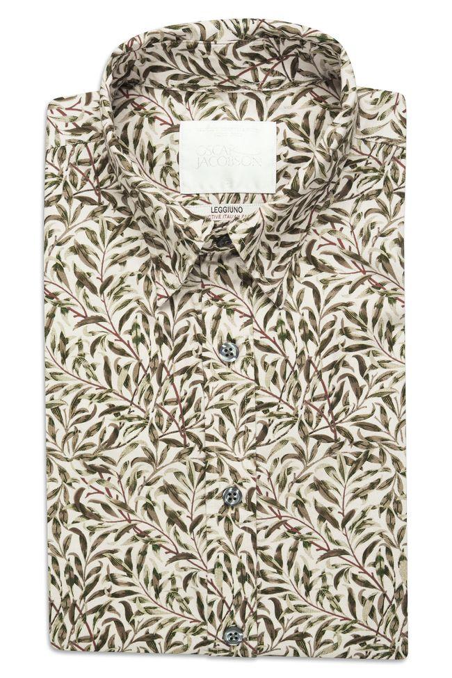 Henning mönstrad skjorta