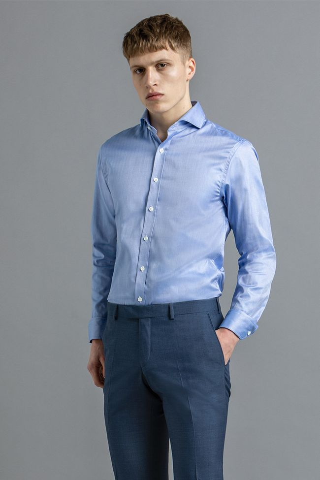Herman herringbone shirt