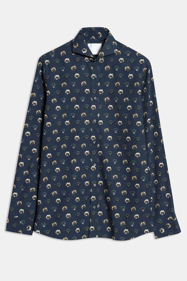 Herman skjorta med mopsprint