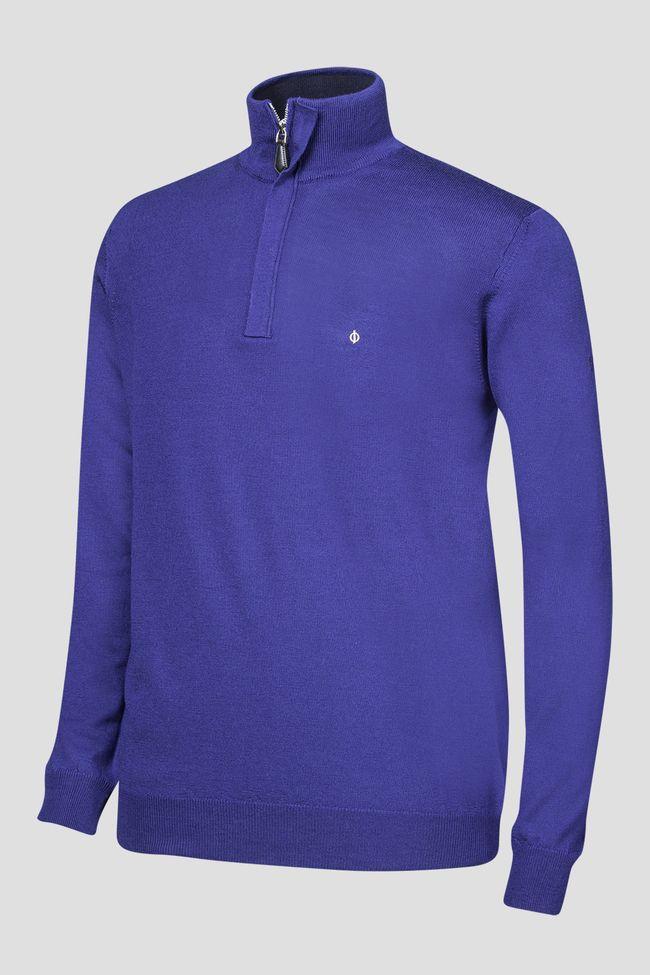 Heron half-zip golf sweater