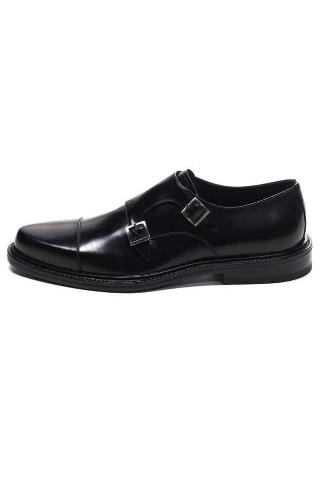 Heston double monkstrap shoes