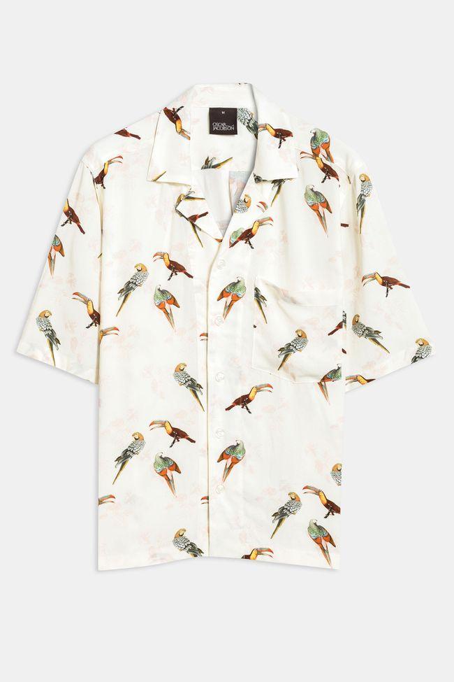 Hilmer bird print shirt