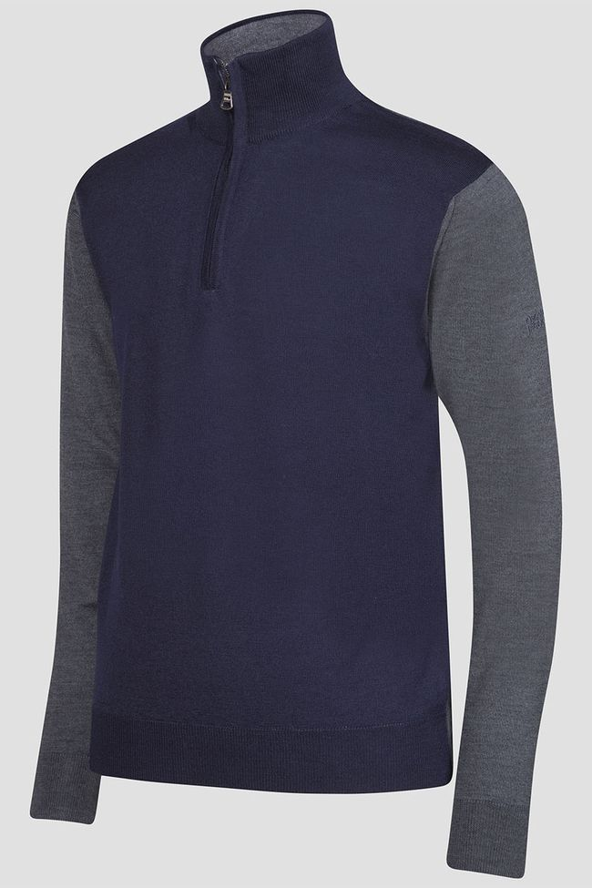 Jerome Half-zip golf sweater