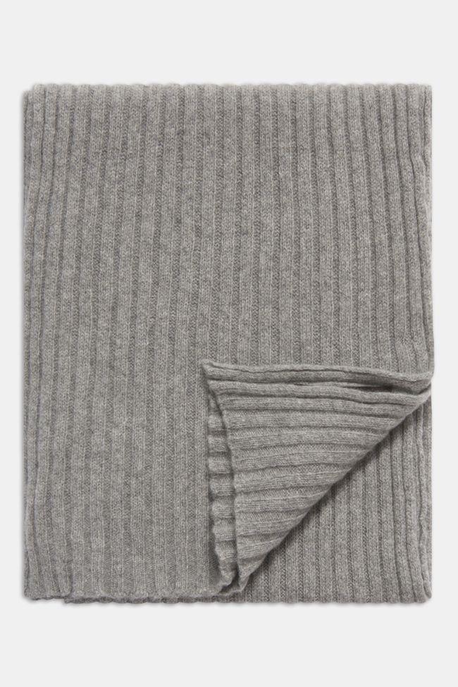 ribbstickad kashmirscarf