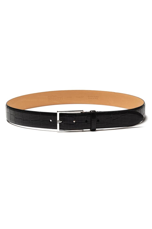 Leather belt 35mm
