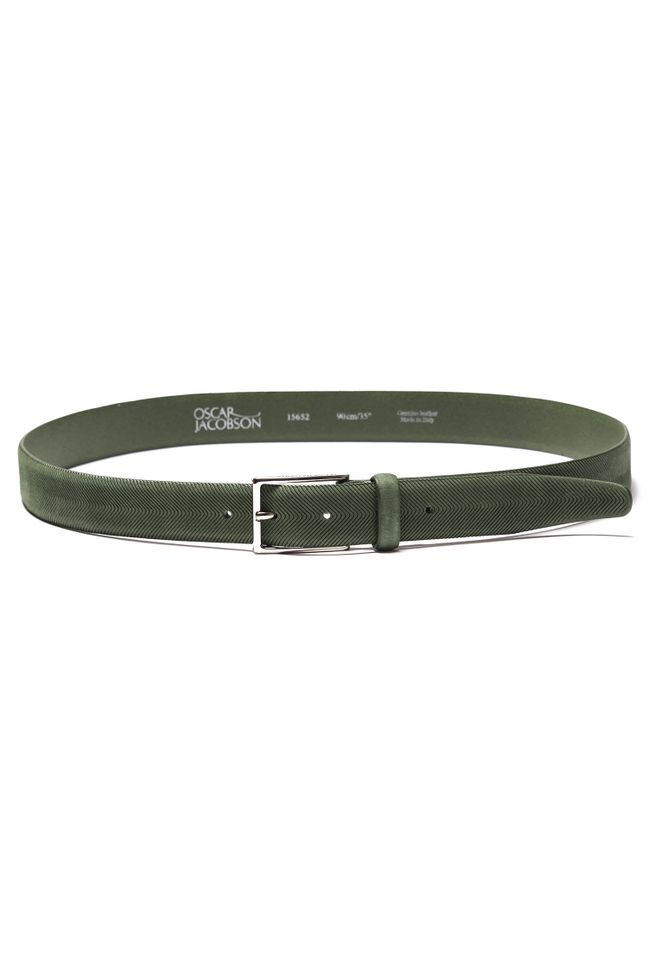 Leather belt 30mm