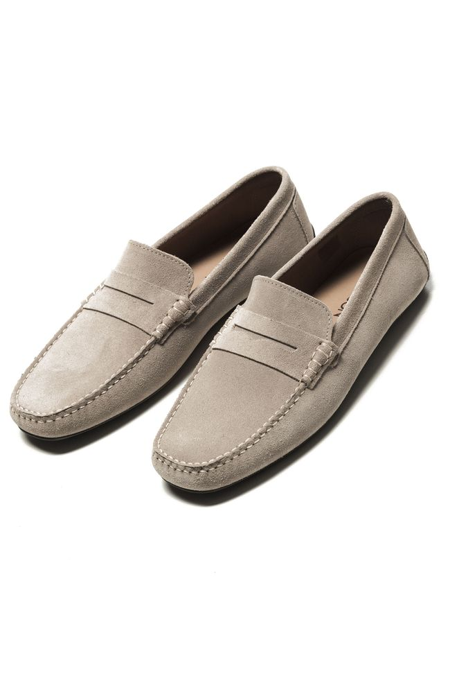 Pierre suede loafers
