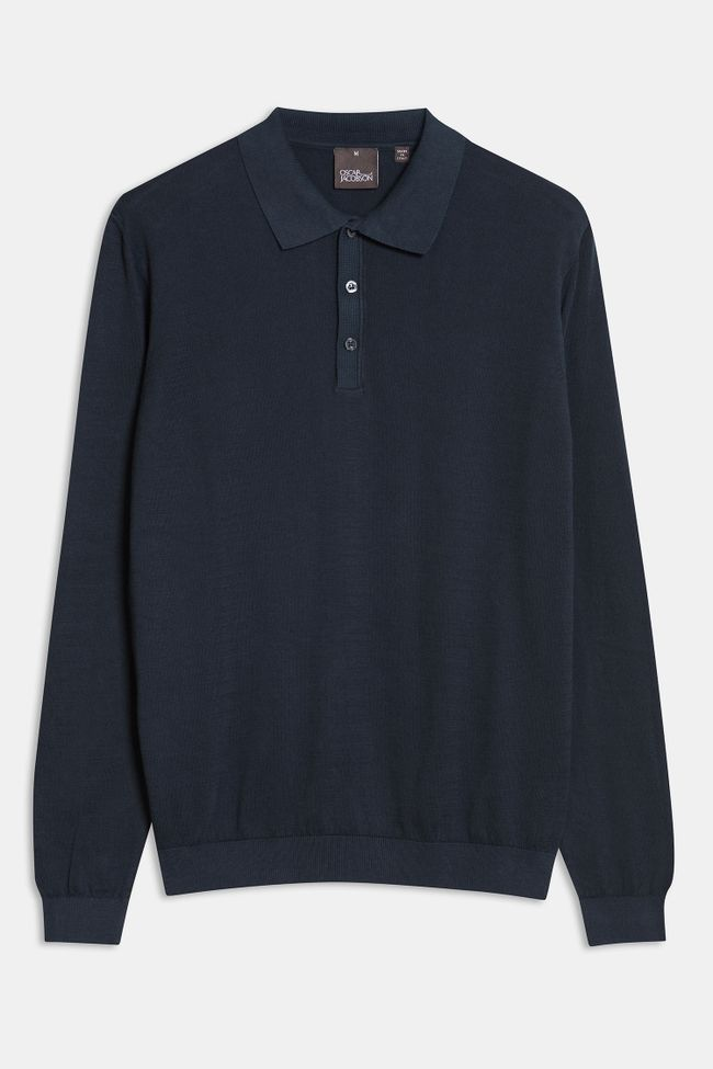 Ruben long sleeve Poloshirt