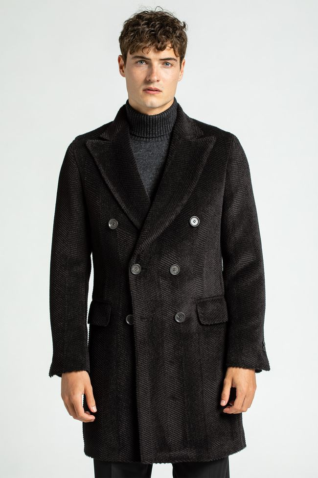 Saul double breasted coat