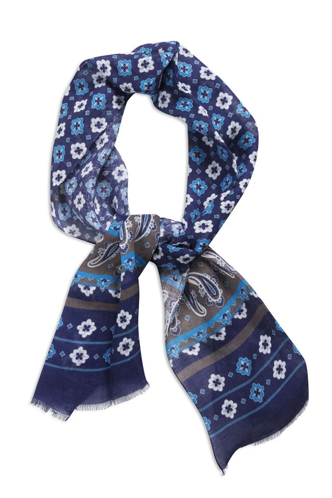 Printed Linen scarf