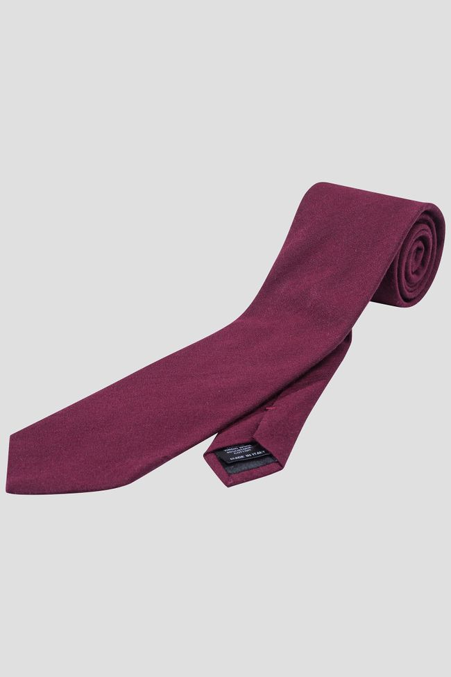 Wool & cotton tie