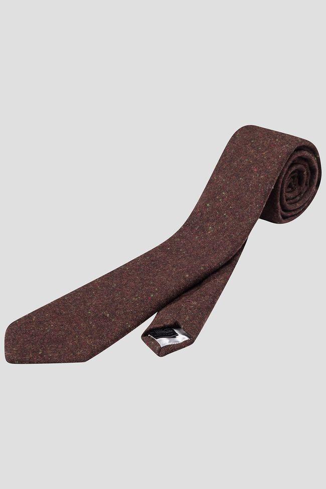 Wool & cashmere tie