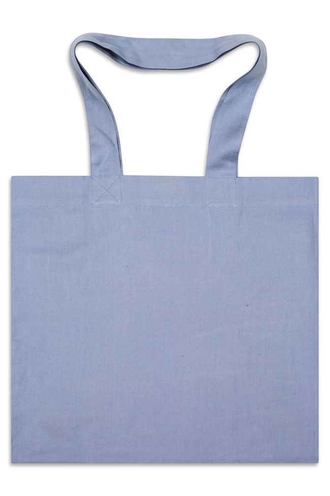 Fiskbensmönstrad Tote Bag