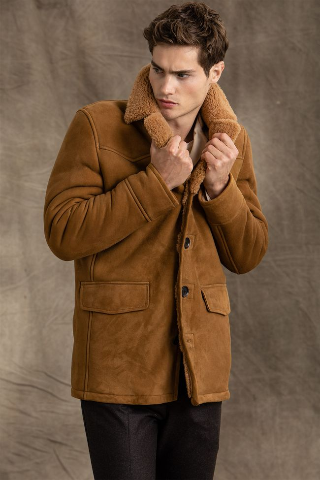 Wayland shearling coat
