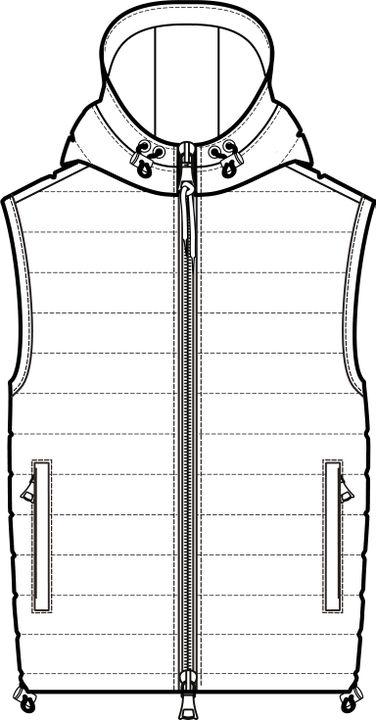 Liner Hood Waistcoat