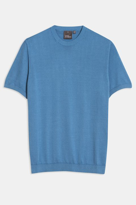Barth stickad T-shirt