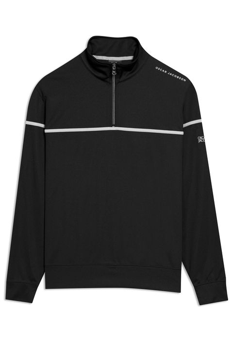 Bill half zip golf sweater
