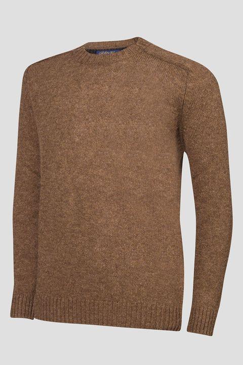 Conrad Shetland wool roundneck