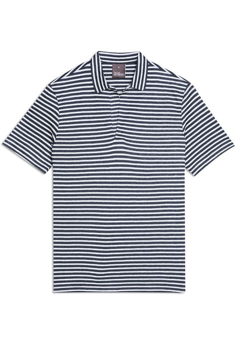 Cornelis Striped Short Sleeve Poloshirt