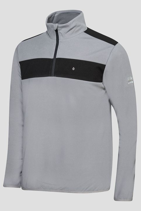 Dreyfuss half-zip golf sweater