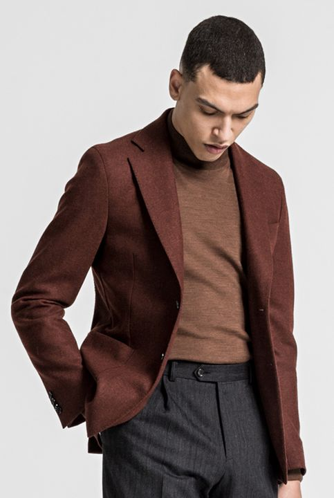 Edgar tweed blazer