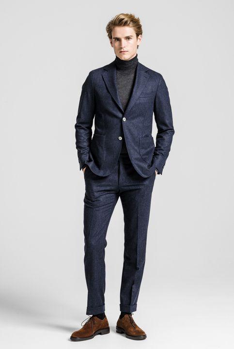 Edgar flannel suit