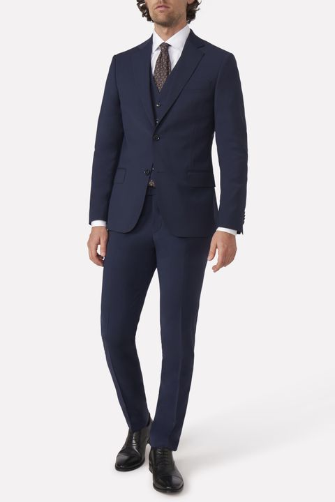 Edmund three piece suit