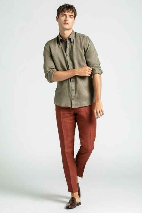 Egel linen suit
