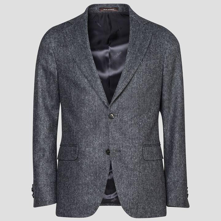 Ego flannel blazer