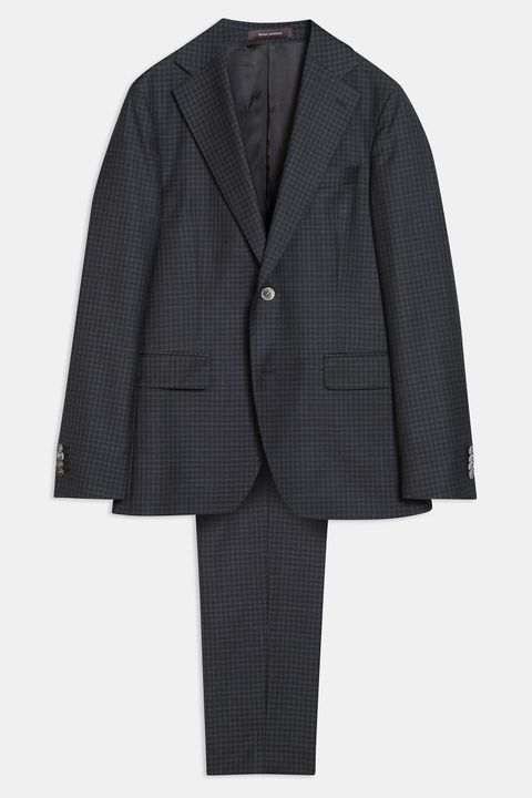 Ego checkered suit