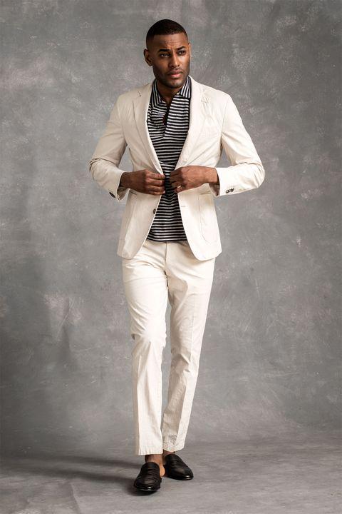 Einar cotton blazer