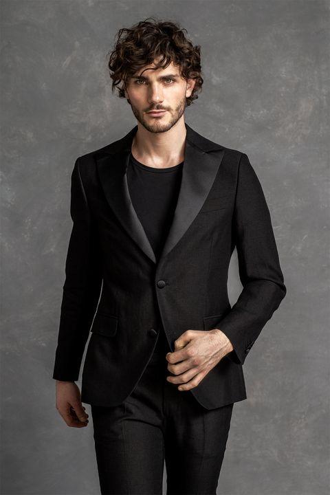 Elder Linen Tuxedo