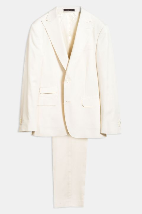 Elmer white suit