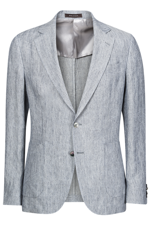 Epic unconstructed linen blazer