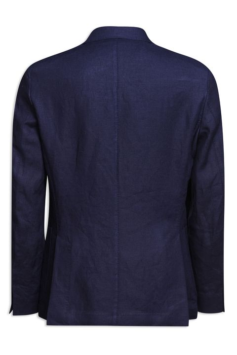 Erik double breasted linen blazer