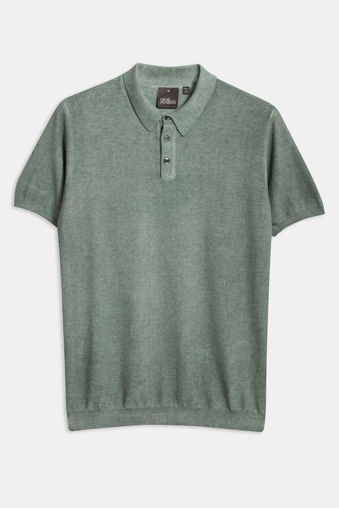 Fado kortärmad tröja med krage