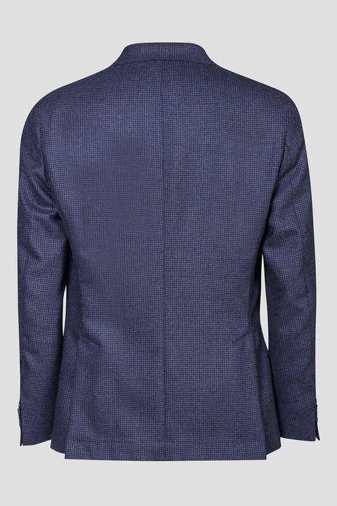 Feng micro checkered blazer