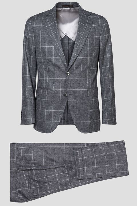 Ferry checkered suit