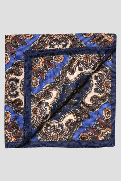 Wool and silk handkerchief