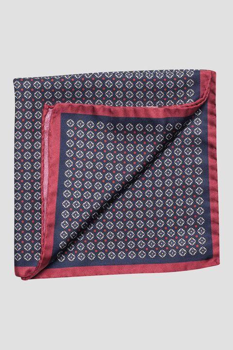 Micro pattern silk handkerchief