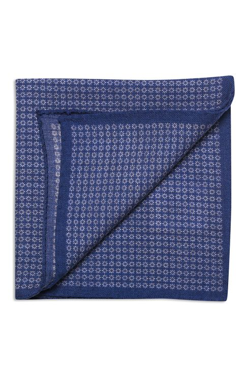 Patterned wool Handkerchief